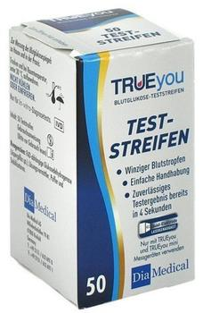 Dia-Medical Trueyou Blutglukose Teststreifen (50 Stk.)