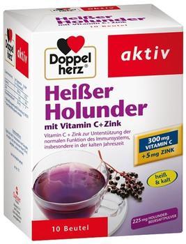 Doppelherz Heisser Holunder m. vit.c+zink Gran. (10 Stk.)