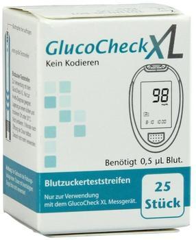 Aktivmed Gluco Check XL Blutzuckerteststreifen (25 Stk.)