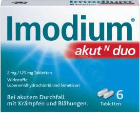 Imodium akut N Duo Tabletten (6 Stk.)