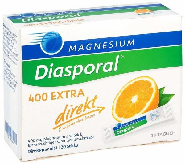 Protina Magnesium Diasporal 400 Extra direkt Granulat (20 Stk.)