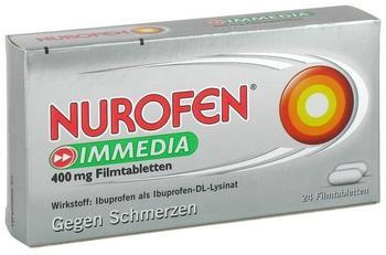 Nurofen Immedia 400 mg Filmtabletten (24 Stk.)