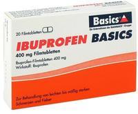 Basics IBUPROFEN BASICS 400 mg Filmtabletten 20 St