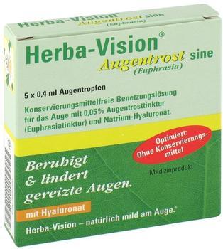 OMNIVISION GMBH HERBA-VISION Augentrost sine Augentropfen