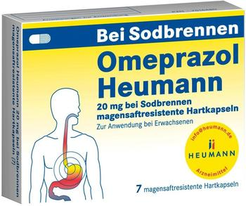HEUMANN PHARMA GmbH & Co Generica KG OMEPRAZOL Heumann 20 mg b.Sodbr.magensaftr.Hartk. 7 St