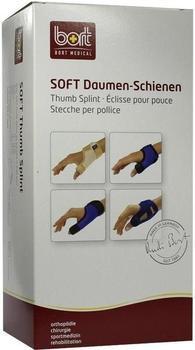 Bort Soft Daumen-Schiene lang schwarz Gr. M