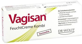 Vagisan Feuchtcreme Kombi Ovula + Creme (8 Stk. + 10 g)