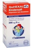 Hexal IBUHEXAL 4% Kindersaft Susp.z.einnehmen