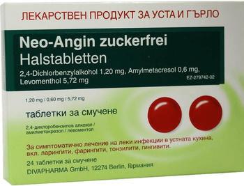 Neo Angin Halstabletten Zuckerfrei (24 Stk.)