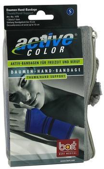 Bort ActiveColor Daumen-Hand-Bandage Blau Gr. S