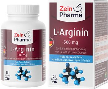 ZeinPharma L-Arginin Kapseln (90 Stk.)