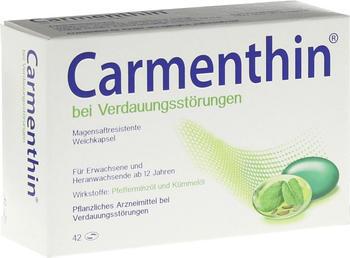 Dr Willmar Schwabe GmbH & Co KG Carmenthin bei Verdauungsstörungen Weichkapsel 42 St.