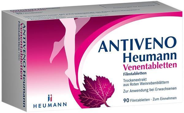 Antiveno Venentabletten Filmtabletten (90 Stk.)