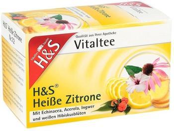 H&S Heiße Zitrone Vitaltee Nr. 72 (20 Stk.)