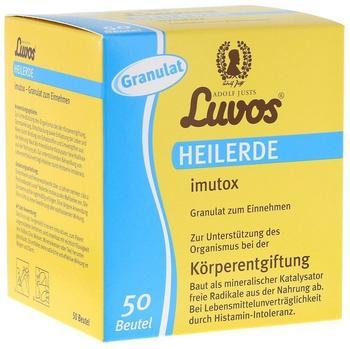 Luvos Naturkosmetik Heilerde imutox Granulat Beutel (50 Stk.)