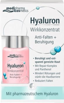 Medipharma Hyaluron Wirkkonzentrat Anti-Falten + Beruhigung (13ml)
