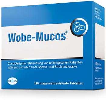 Mucos Wobe-Mucos magensaftresistente Tabletten (120 Stk.)