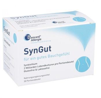 Bencard Allergie GmbH SynGut Synbiotikum mit Probiotika und Prebiotika