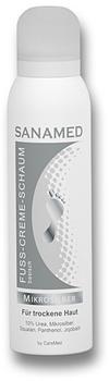 CareMed Mikrosilber Sanamed Fuß-Creme-Schaum (300 ml)