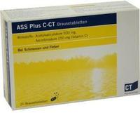 AbZ Pharma GmbH ASS PLUS C-CT Brausetabletten 20