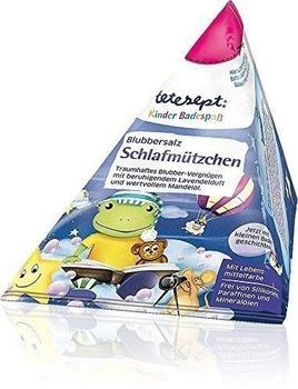 Tetesept Kinder Badespaß Blubbersalz Schlafmützchen (50 g)
