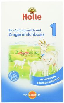 Holle Bio-Anfangsmilch aus Ziegenmilch von Geburt