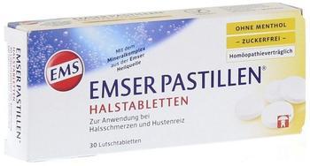 Emser Pastillen ohne Menthol zuckerfrei (30 Stk.)