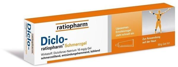 Ratiopharm DICLO RATIOPHARM Schmerzgel 150 g