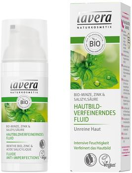 Lavera Hautbildverfeinerndes Fluid Bio-Minze (50ml)