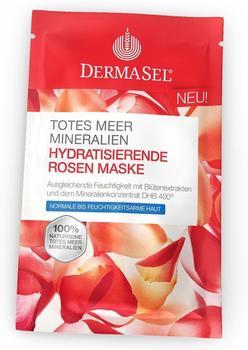 DermaSel Totes Meer Hydratisierende Rosen Maske (12ml)
