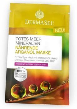 DermaSel Totes Meer Nährende Arganöl Maske (12ml)