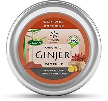 Lemon Pharma GmbH & Co KG Ingwer Ginjer Anis Pastille BIO