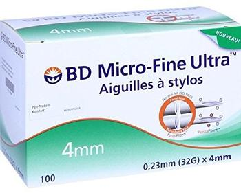 B2B Medical BD Micro fine Ultra Pen-Nadeln 0,23 x 4 mm (100 Stk.)