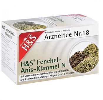 H&S Fenchel-Anis-Kümmel N Filterbeutel (20x2,0g)