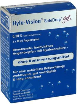 Hylo-Vision SafeDrop Gel Augentropfen (2 x 10ml)