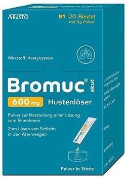 Bromuc akut 600 mg Hustenlöser Pulver