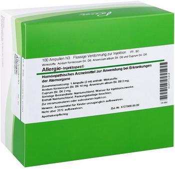 PASCOE Pharmazeutische Präparate GmbH Allergie-Injektopas Ampullen 100x2 ml