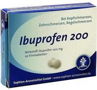 Sophien-Arzneimittel GmbH IBUPROFEN Sophien 200 Filmtabletten 20 St