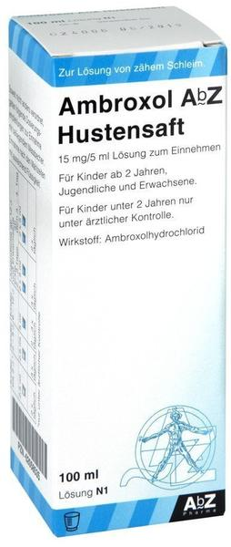 Ambroxol Abz Hustensaft 15 mg/5 ml 100 ml