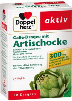 akiv Galle-Dragee mit Artischocke 300 (50 Stk.)