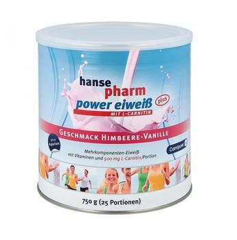 Hansepharm Power Eiweiss Plus Himbeere-Vanille 750g