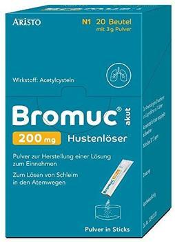 Bromuc akut 200 mg Hustenlöser (20 Stk.)