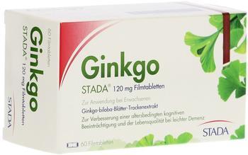 STADA Ginkgo STADA 120 mg Filmtabletten 60 St