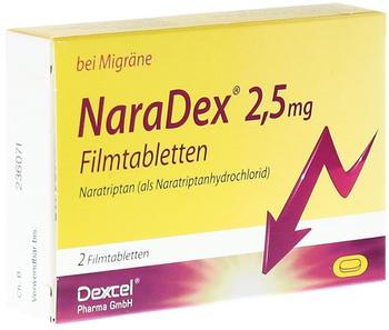 NaraDex 2,5 mg Filmtabletten (2 Stk.)