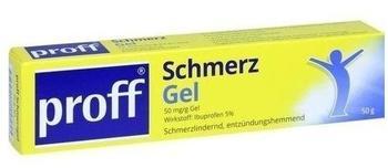 Medipharma Cosmetics PROFF Schmerzgel 50 mg/g 50 g