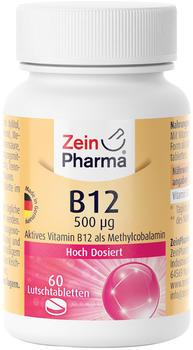 ZeinPharma Vitamin B12 500g Lutschtabletten (60 Stk.)