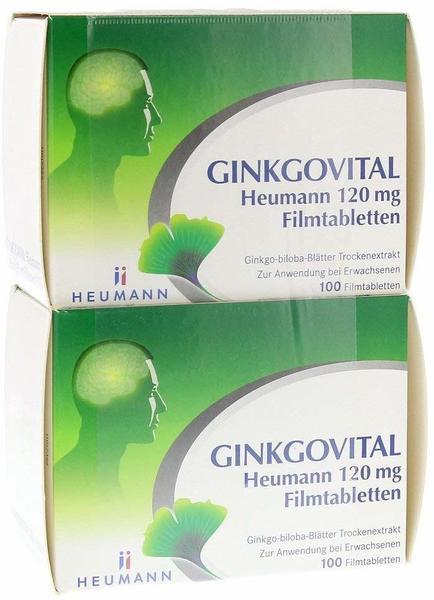 GINKGOVITAL Heumann 120 mg Filmtabletten (200 Stk.)