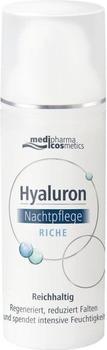 Medipharma Hyaluron Nachtpflege riche Creme (50ml)