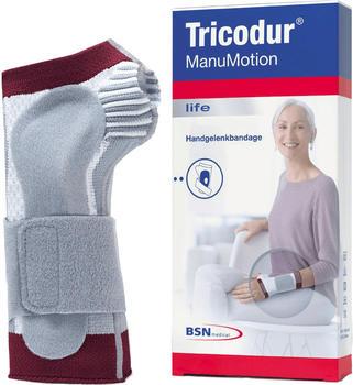 BSN Medical Tricodur ManuMotion rechts weiß/grau/rot Gr. 5 / XL