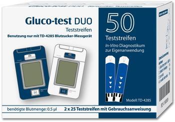 Aristo Pharma Gluco Test Duo Teststreifen (50 Stk.)